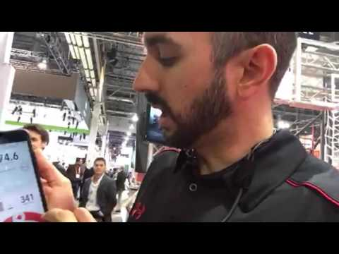 Vert Biofeedback Fitness App At CES 2017 #CES2017