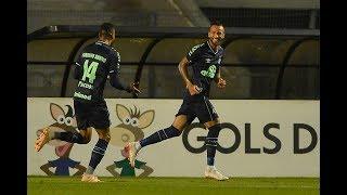 Gol de Leandro Pereira - Santos 0 x 1 Chapecoense - Narração de Fausto Favara
