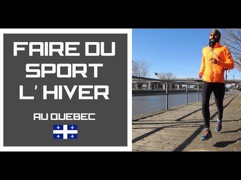 faire du sport au Québec à  moins 14 degrés