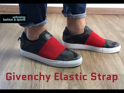 Givenchy Elastic Strap ' Camo/black/red