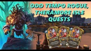 Odd Tempo Rogue / Theramore Isle Quests