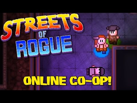 Streets of Rogue Co-op Online - Riot Riot Riot! [Streets of Rogue Coop Gameplay]