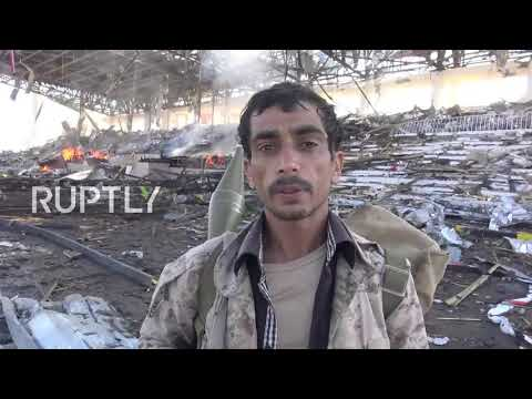 Yemen: Saudi-led airstrike hits major Sanaa square