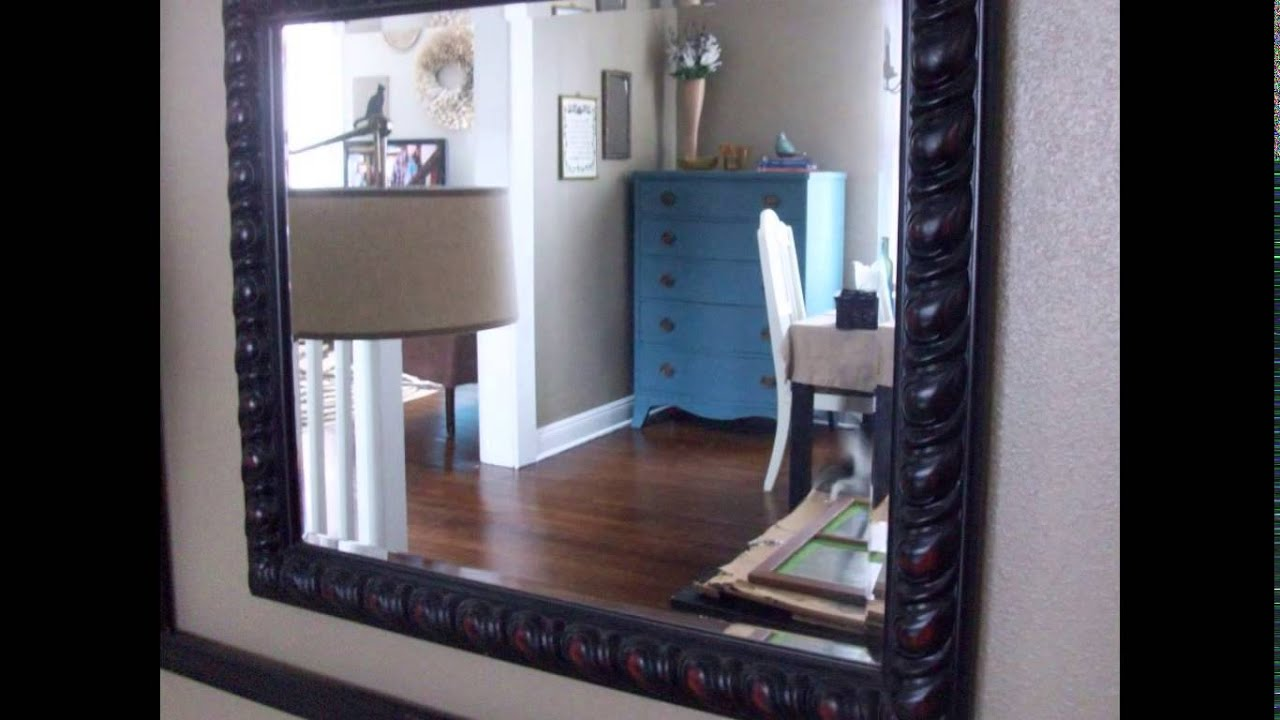 Dining room mirrors youtube for Large dining room mirror