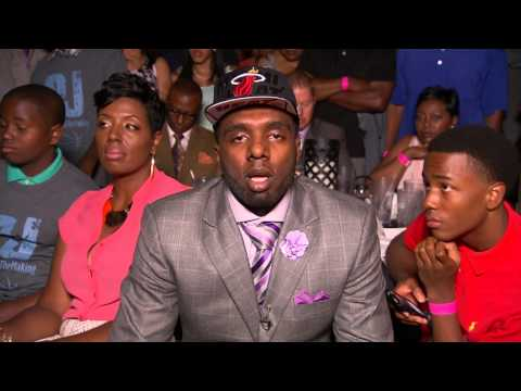 PJ Hairston talks about being picked in NBA Draft