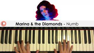 Marina & the Diamonds - Numb (Piano Cover) | Patreon Dedication #333