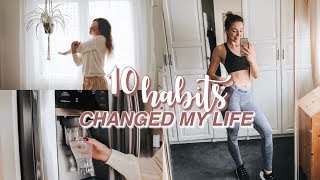 Hey everyone! today i'm sharing my healthy habits and life hacks tips that really helped me to see progress in health fitness as well make a...