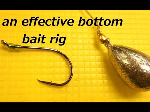 A Simple Yet Effective Bait Rig For Bottom Fishing