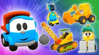 Leo the Truck and Cars for Kids. Kids