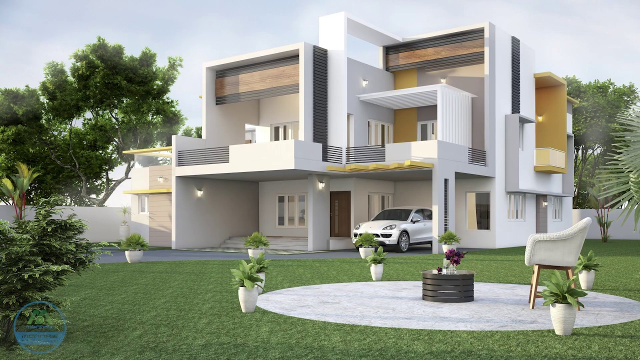 Modern And Traditional House Designs In Kerala New Home