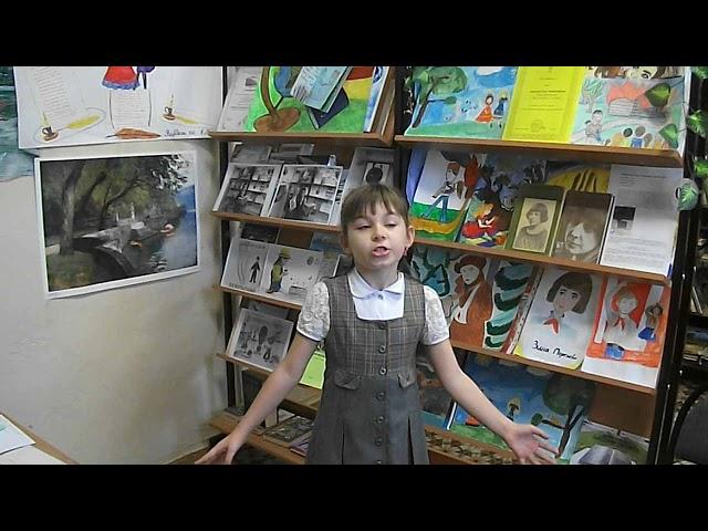 Изображение предпросмотра прочтения – КсенияСерикова читает произведение «Мирок» М.И.Цветаевой