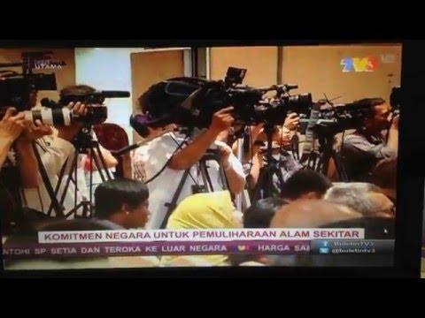 Dr. AAA at IPBES Asia Pacific Regional Consultation @Buletin Utama TV3