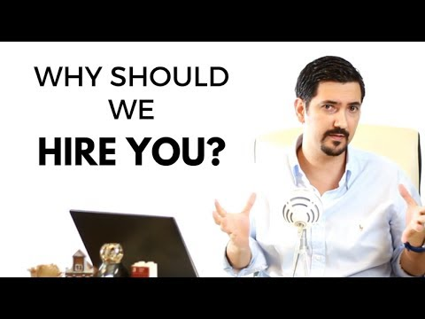 Why Should We Hire You? Learn How to Answer This Job Interview - why should i hire you