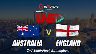 Cricbuzz LIVE: Semi-final 2, Australia v England, Pre-match show