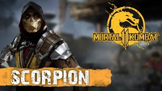 MK11 Scorpion day one combos