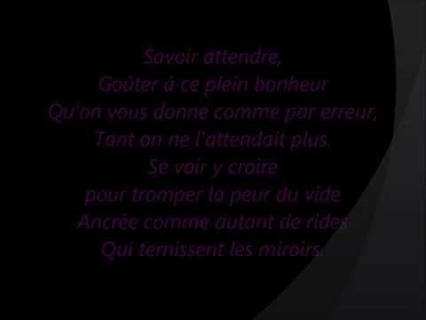 Florent Pagny - Savoir Aimer (Paroles)
