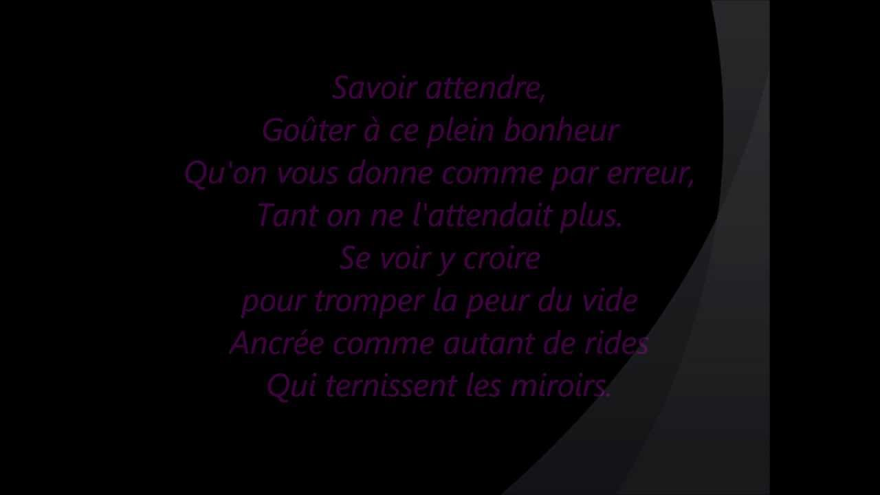 florent pagny savoir aimer paroles youtube. Black Bedroom Furniture Sets. Home Design Ideas