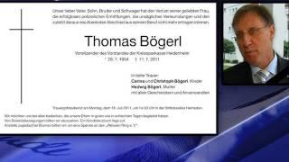Witwer Bögerl tot - Familie erhebt schwere Vorwürfe (Regio TV Schwaben)