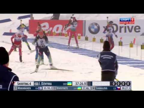 Биатлон , 8 Этап кубка мира в Холменколлен, Индивидуальная гонка, Женщины 12.02.15
