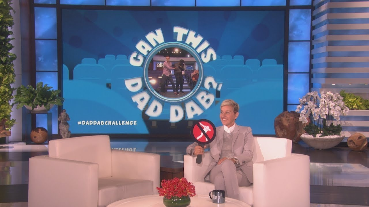 Ellen & tWitch Play 'Can This Dad Dab?'