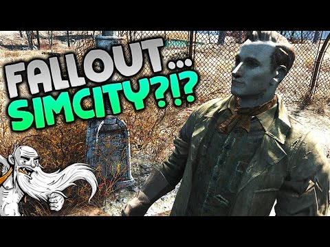 """SIM CITY...IN FALLOUT 4?!?"" - Fallout 4 Sim Settlements Mod Gameplay Let's Play"