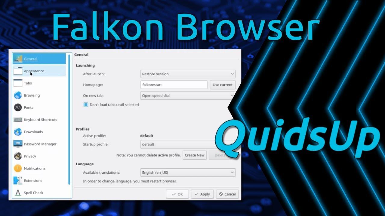 Falkon – New browser under the KDE Umbrella – clivejo:~
