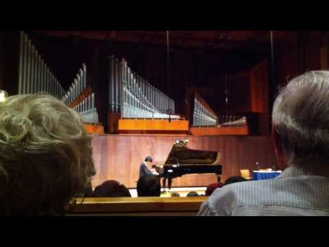 Sean Chen - Liszt / Paganini Etude No.6 In A Minor, Juilliard Paul Hall, Sep. 22, 2010