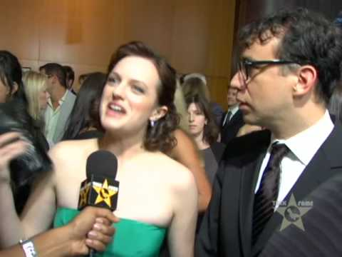 Elisabeth Moss & Fred Armisen Reveal Chocolate Obsession At 'Mad Men' Premiere