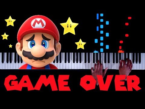 20 CLASSIC Mario 'Game Over' Themes on Piano