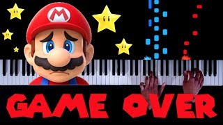 20 CLASSIC Mario Game Over Themes on Piano