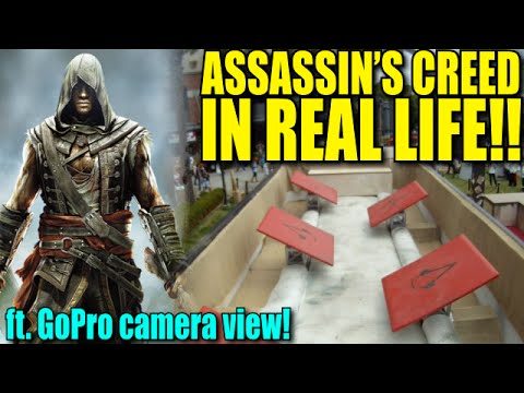 Assassin's Creed IN REAL LIFE! - Obstacle Course GoPro View
