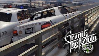 GTA 5 Online | E62 - Man Down! (Wanted Stars)