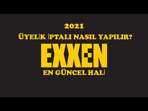 EXXEN ÜYELİK İPTALİ NASIL YAPILIR? BASİT ANLATIM!!!