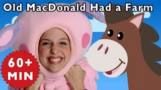Old MacDonald Had a Farm and More | Nursery Rhymes from Mother Goose Club!