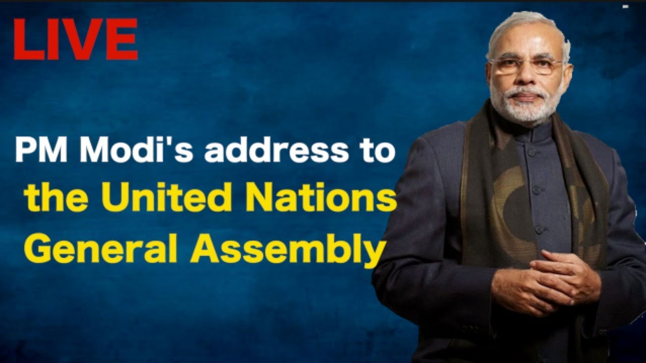 PM Modi's address to the  United Nations General Assembly