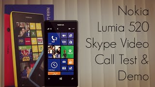 Nokia Lumia 520 Skype Video Call Test & Demo(Full Details on the website : http://PhoneRadar.com Phone Finder : http://PhoneRadar.com/gadgets ~~## Follow Amit Bhawani on Social Media ..., 2013-04-15T04:30:08.000Z)