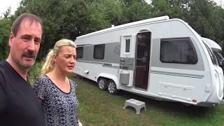 Wohnwagen Roomtour Knaus 750 UFK Exclusive und unsere Urlaubsplanung nach ?