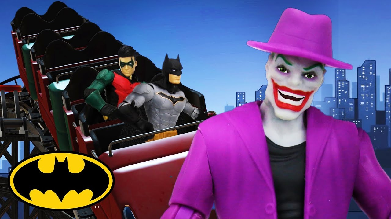 Rollercoaster | Batman Missions: Stop-Motion Adventures | DC Kids