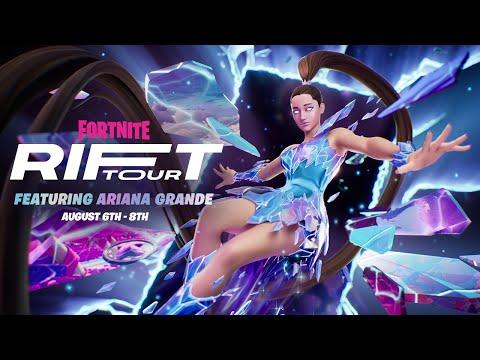 Fortnite Presents: Rift Tour Featuring Ariana Grande