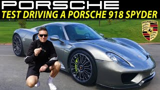 Is the Porsche 918 Spyder REALLY Worth £1.1 Million? Porsche UK & Porsche car values