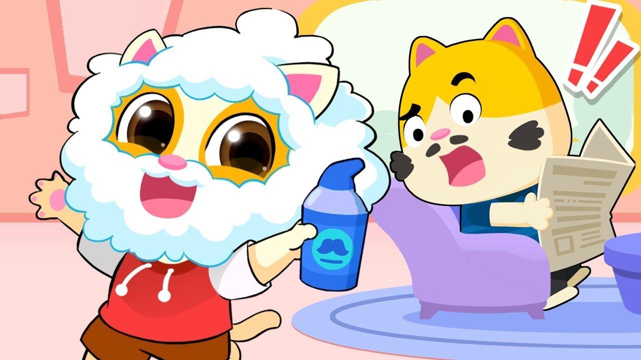 Naughty Baby Kitten  Learn Colors  Play Safe  Doctor Cartoon  Kids Songs  Kids Cartoon BabyBus