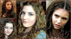 Katerina Petrova - Katherine Pierce 1492 Haar und Makeup Tutorial / Hair and Makup