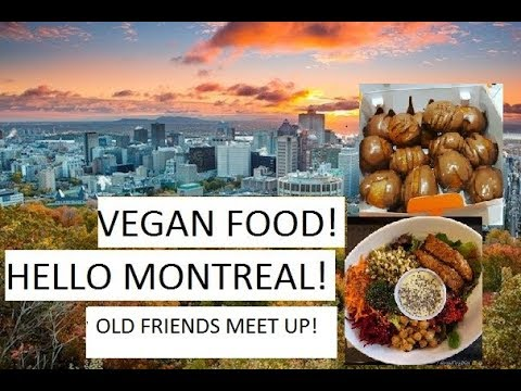 GoodBye Texas Hello Montreal/ Visiting Old Friends/ Montreal Foody Experience/ Vegan Meal