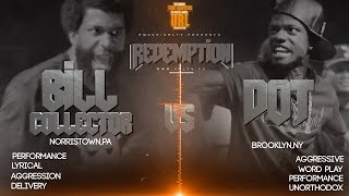 DOT VS BILL COLLECTOR SMACK/ URL RAP BATTLE