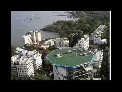 "Exclusive Videos of Mukesh Ambani's house ""Antilla"".Rare Pics"