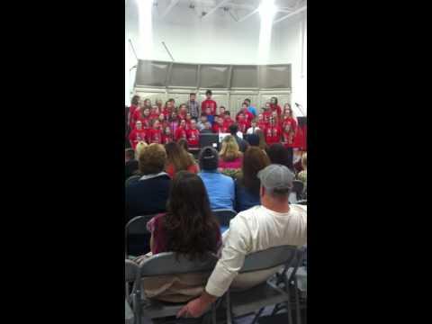 Dustin Higginbotham @ 5-6th grade choir concert 12-17-2015 Short Line School