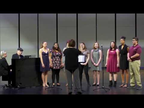 """""""A Million Dreams,"""" Sung by Creative Arts Academy 8th Grade Music Enrichment Students"""