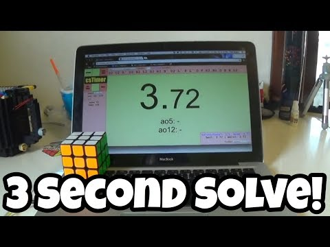 Top 3 Fastest Rubik's Cube Solves Ever! (3 Seconds)
