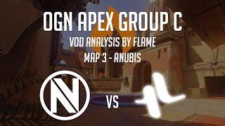 vod analysis envyus vs lunatic hai ogn apex group c map 3 anubis