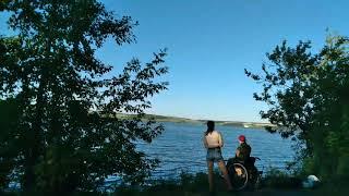 Рыбалка на берегу Беловского моря Было весело